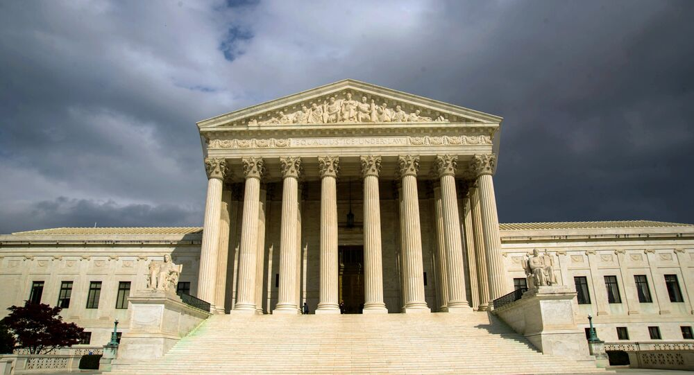 US Supreme Court Building on Capitol Hill in Washington. (File)