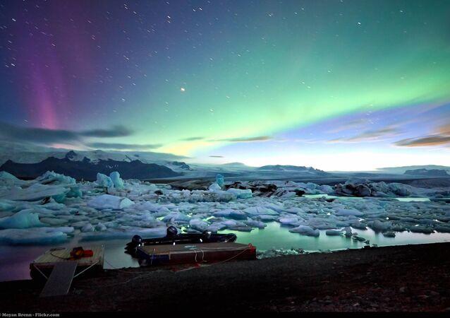 Iceland, Jokulsarlon glacier lagoon