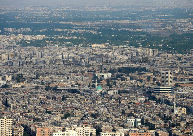 A view of Damascus. (File)