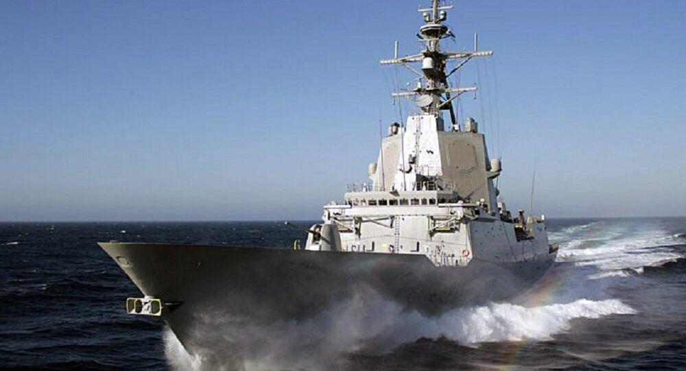 Spanish frigate Almirante Juan de Borbón