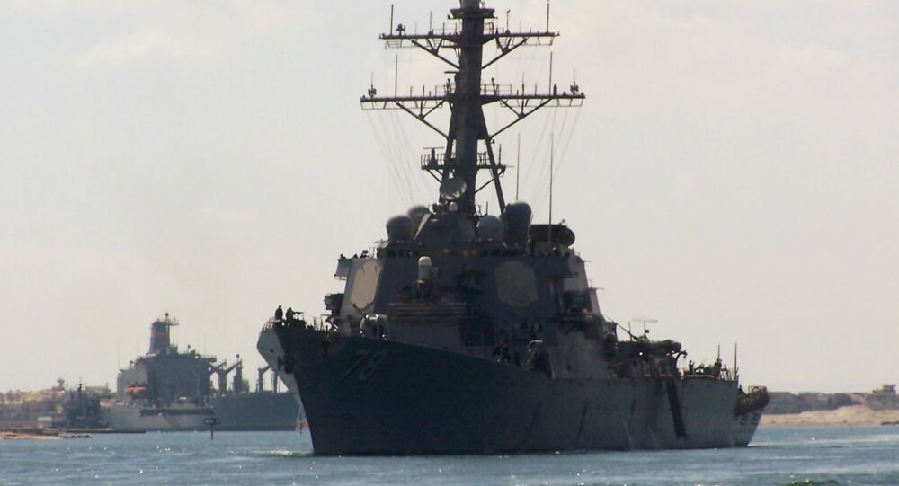US army destroyer USS Porter