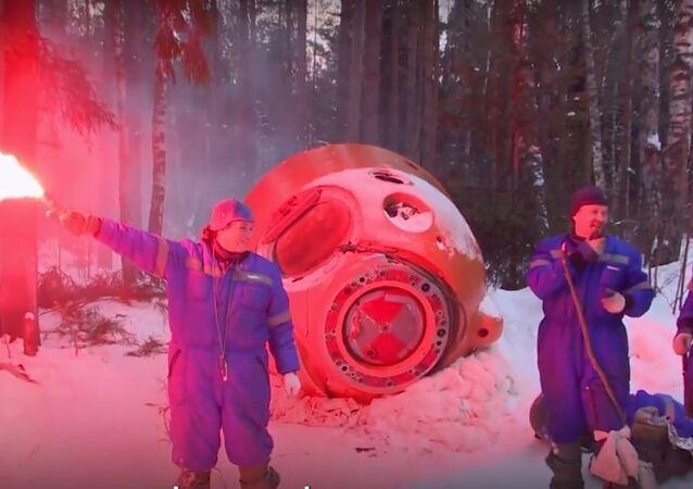 Russian Сosmonauts Survival Training