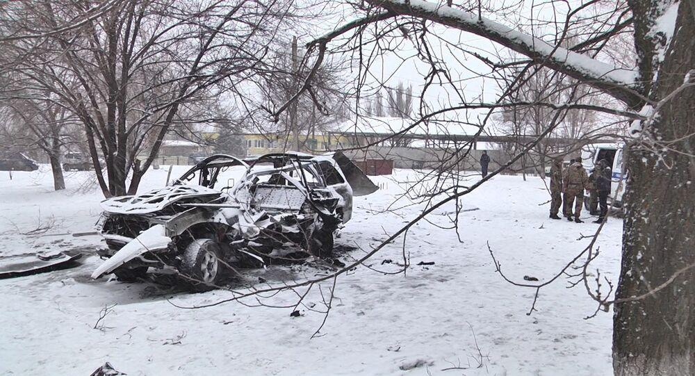 Car Blast in Lugansk Kills Republic's Senior Commander
