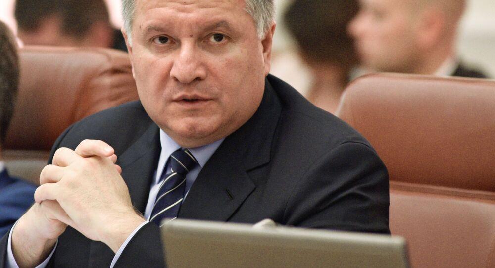 Ukrainian Interior Minister Arsen Avakov. File photo