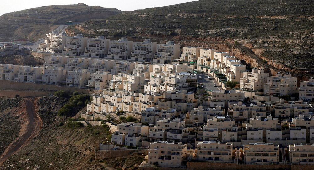 General view of houses of the Israeli settlement of Givat Ze'ev, in the occupied West Bank February 7, 2017