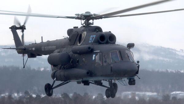 Mil Mi-8AMTSH-VA Arctic helicopter - Sputnik International