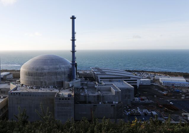 General view of the construction site of the third-generation European Pressurised Water nuclear reactor (EPR) in Flamanville, France. (File)