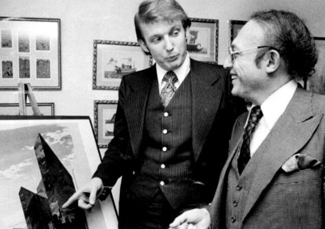 Young Donald Trump