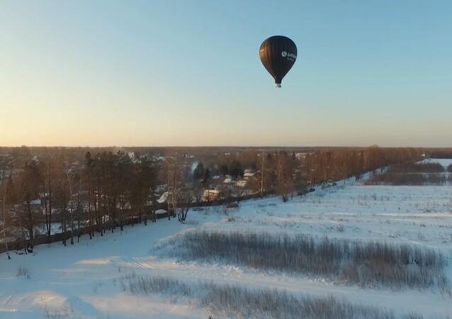 Flight Fedor Konyukhov
