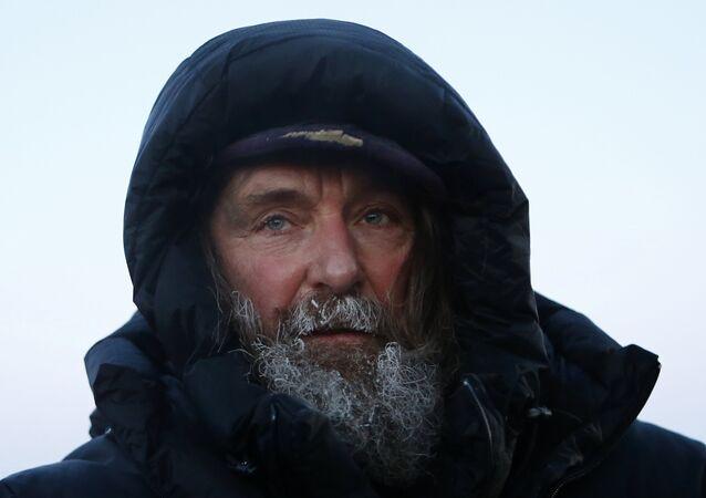 Russian traveler Fyodor Konyukhov
