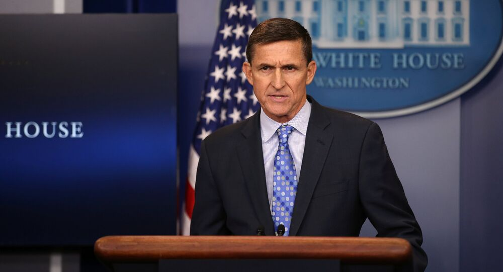 National security adviser General Michael Flynn