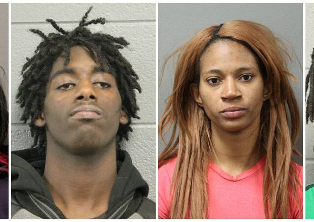 Four people accused of kidnapping and attacking a mentally disabled man in Chicago