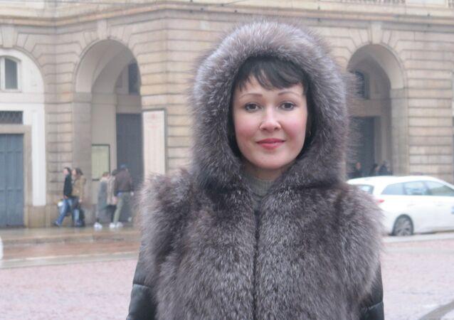 Anna Tuv a Milano