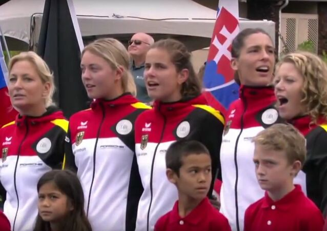 Nazi German Anthem Sung in Fed Cup