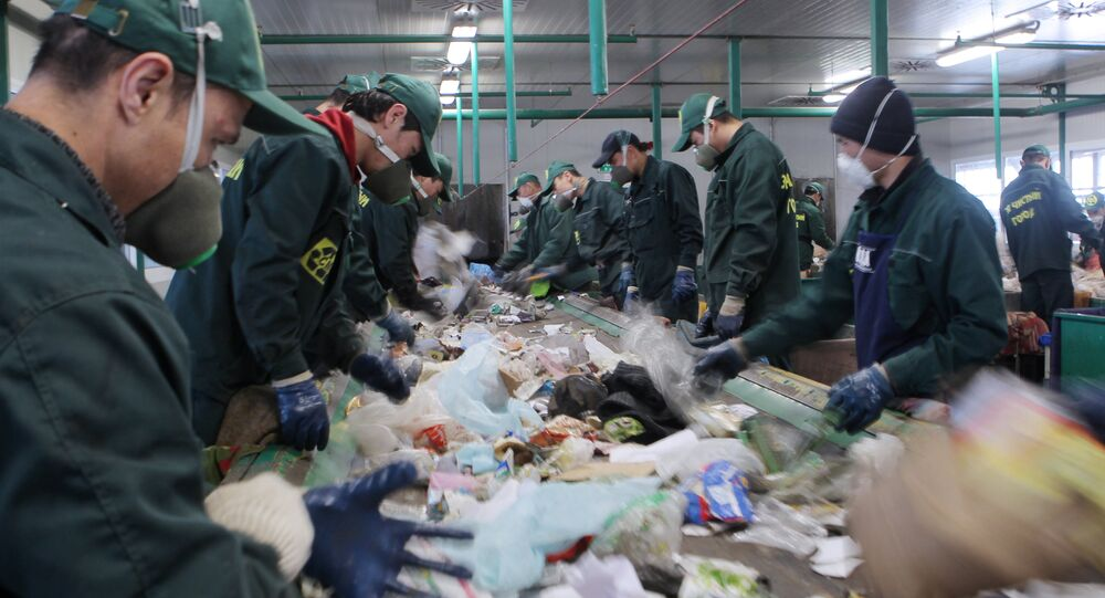 Waste recycling plant in Sochi