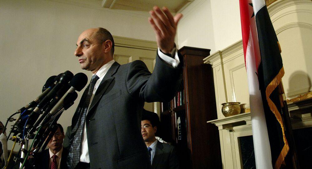 Syrian Ambassador Imad Moustapha (File)