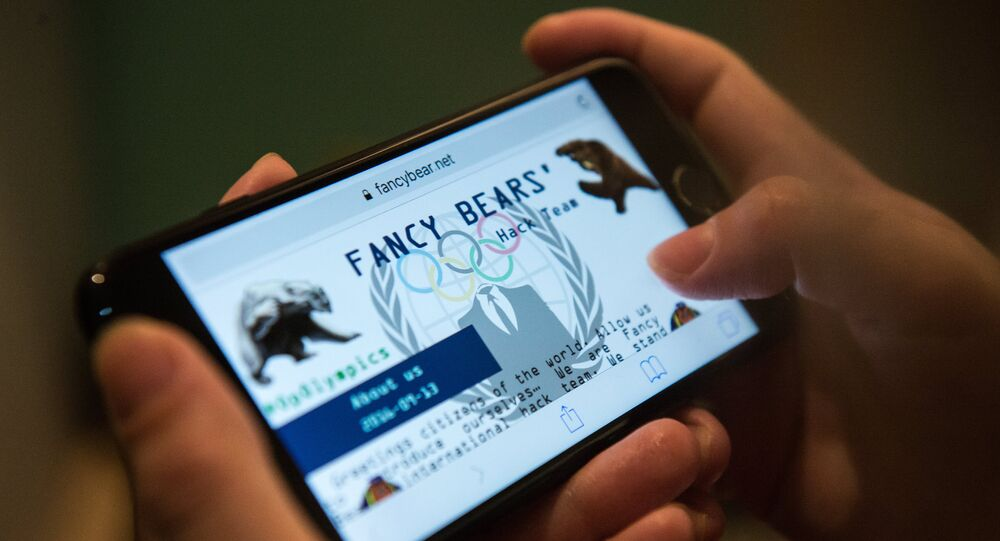 The Fancy Bears website