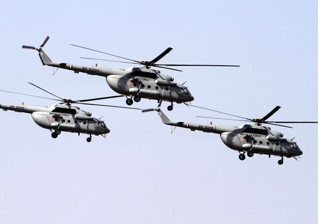 Indian Air Force's Mi- 17 V5 helicopters (File)