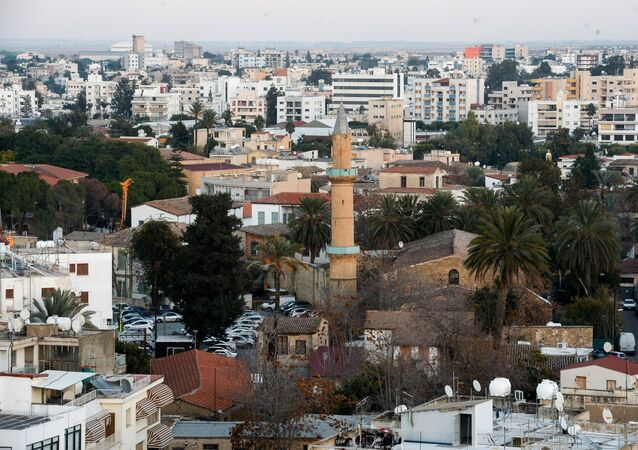 A view of Nicosia.