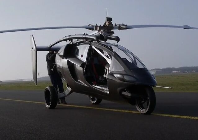 First Flying Car Goes on Sale
