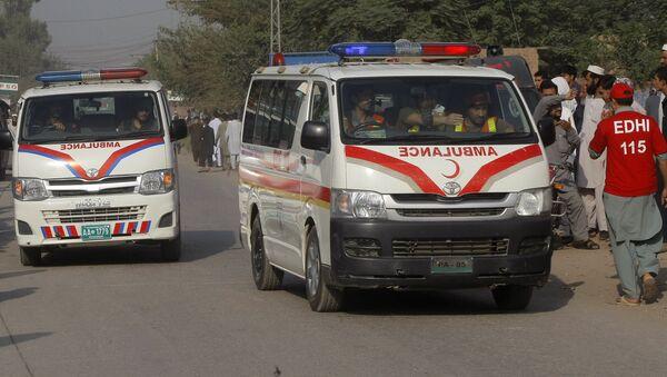 Pakistan ambulance. (File) - Sputnik International