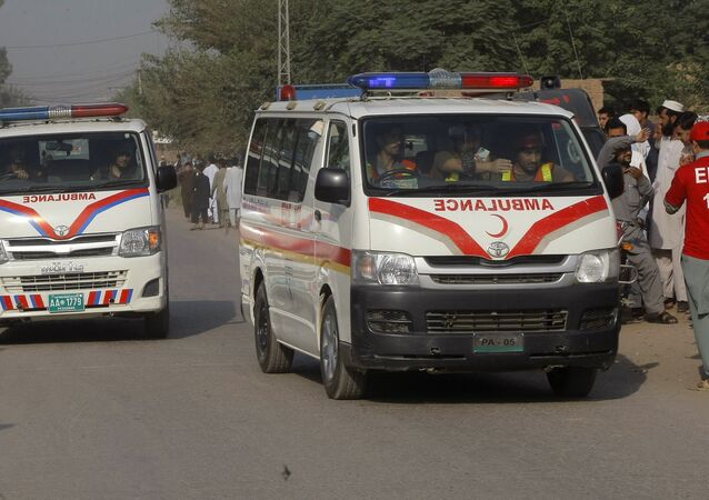 Pakistan ambulance. (File)