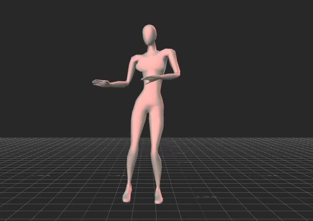 Example of an avatar of a female rated as a 'good dancer'