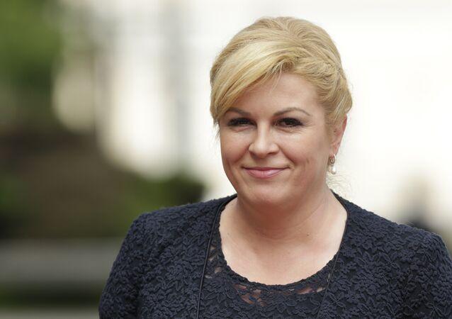 President of the Republic of Croatia Kolinda Grabar Kitarovic
