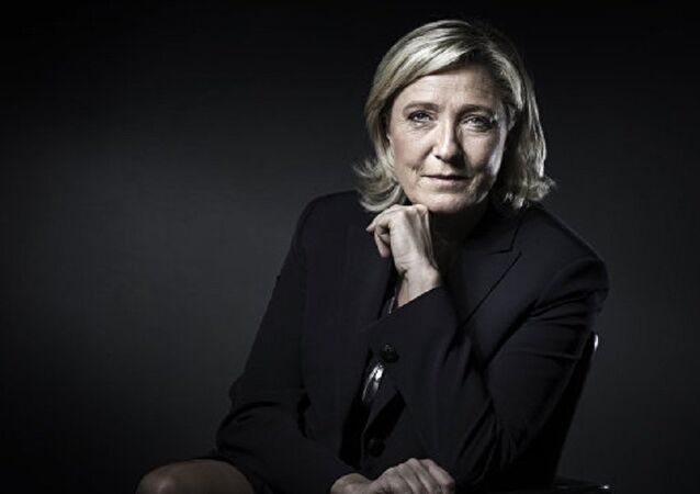 French presidential election candidate for the far-right Front National (FN) party Marine Le Pen. (File)