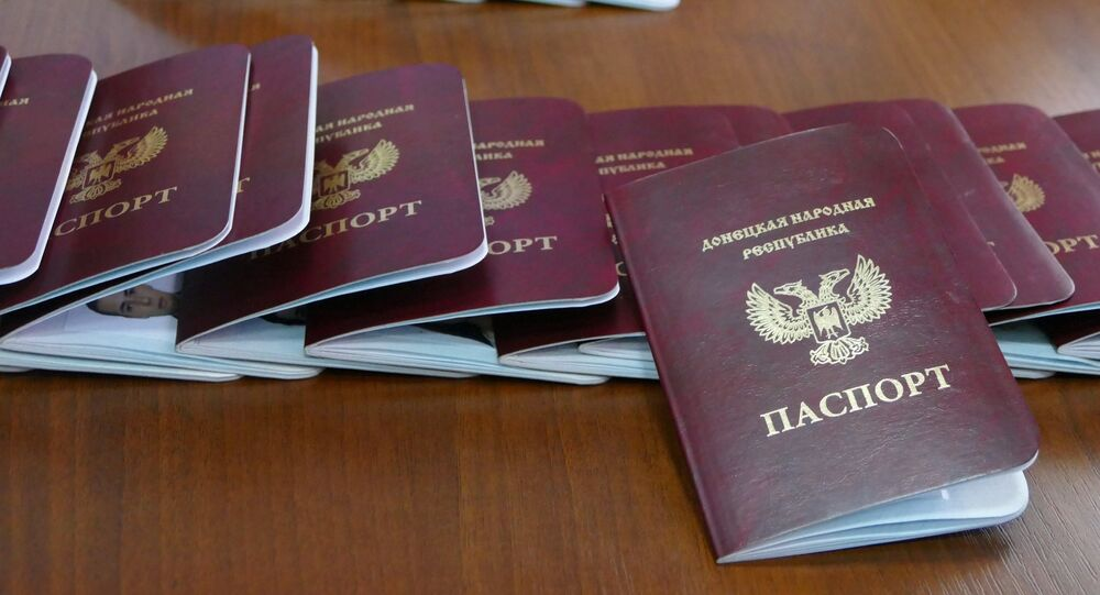 Passports of the Donetsk People's Republic