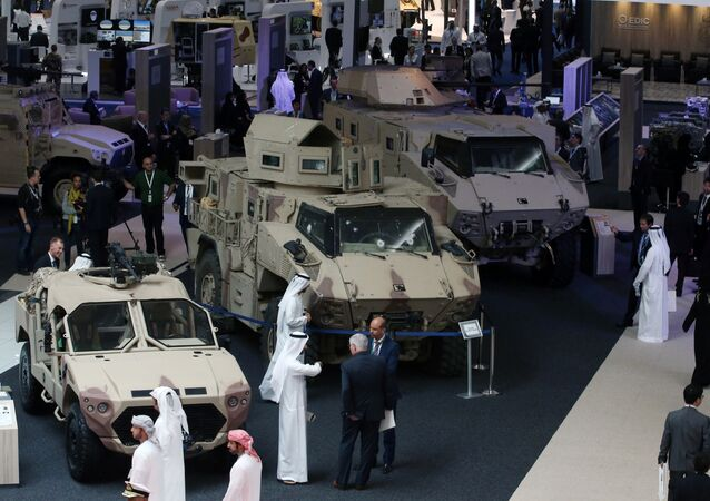 International Defence Exhibition and Conference (IDEX) in Abu Dhabi