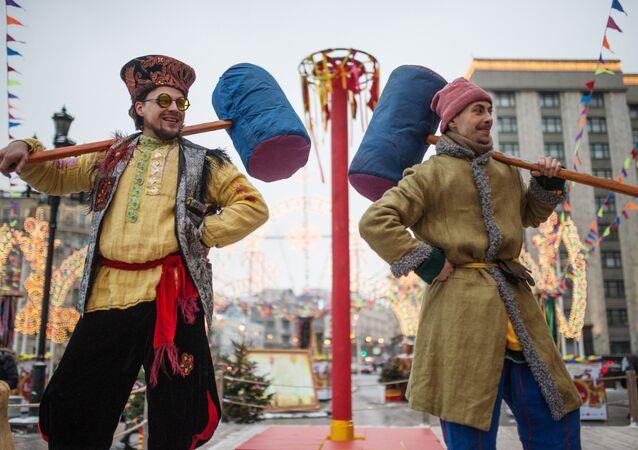 Moscow Maslenitsa festival kicks off