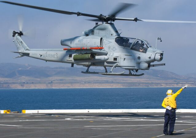 Marine Corps AH-1Z Viper attack helicopter