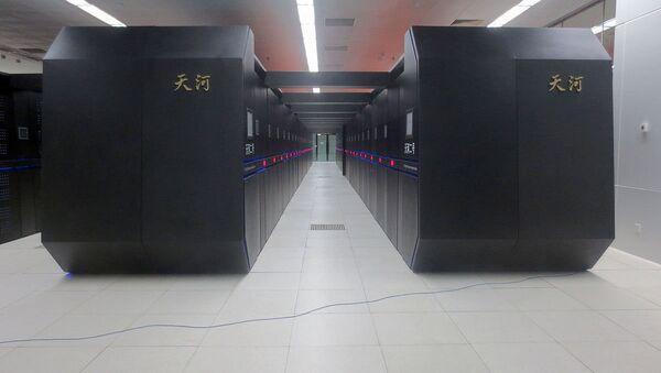 Tianhe-2 in National Supercomputer Center in Guangzhou - Sputnik International