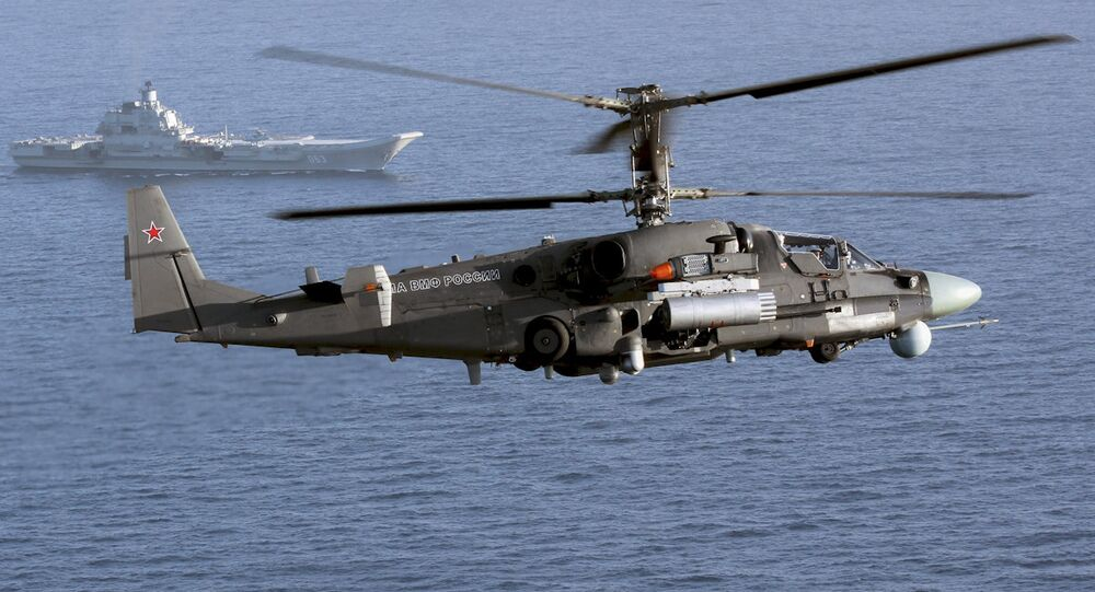 The Ka-52K helicopter