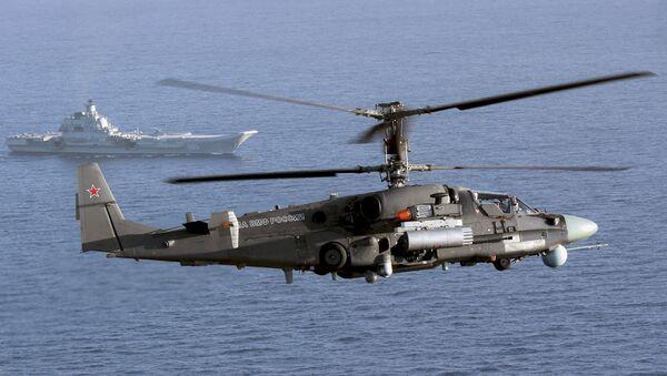 The Ka-52K helicopter - Sputnik International