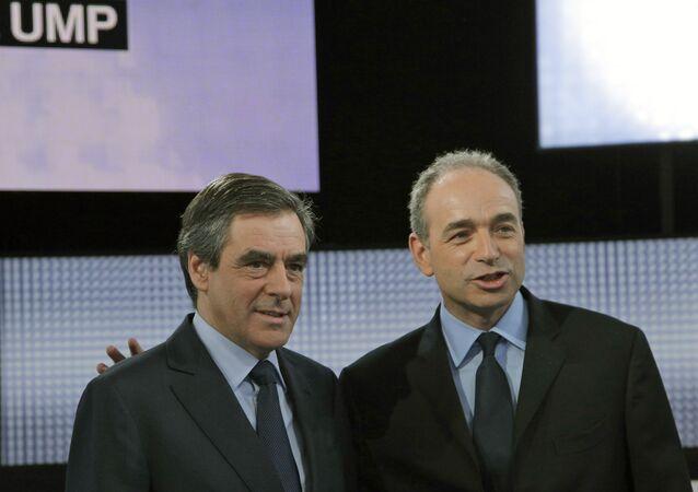 Francois Fillon, left, and Jean-Francois Cope (File)