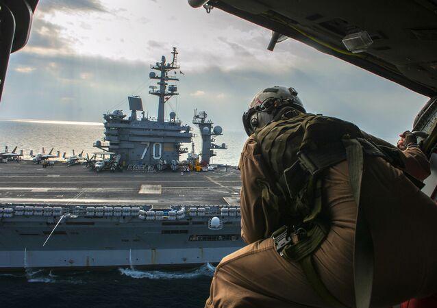 Nimitz-class aircraft carrier USS Carl Vinson (CVN 70)