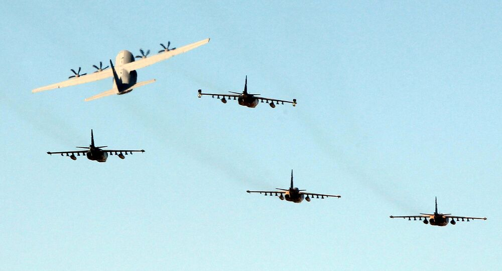 Iraqi military planes. (File)