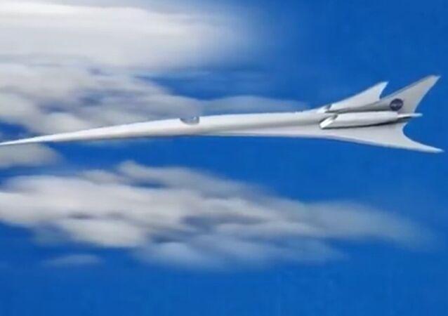 Quiet Supersonic Technology (QueSST) X-plane