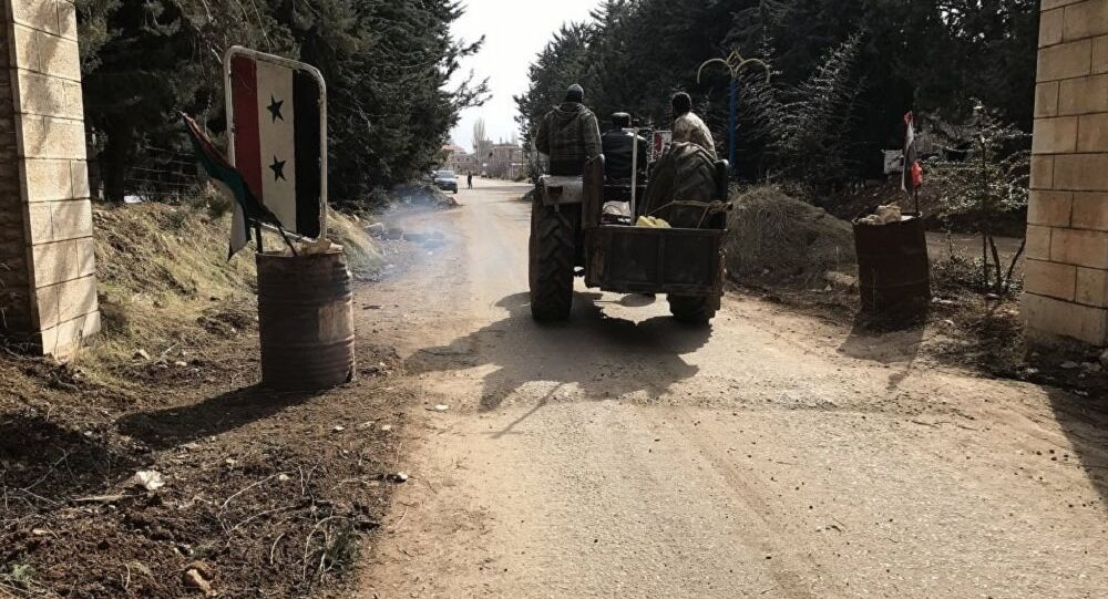 The Syrian army regained control of the city Sergey near Damascus