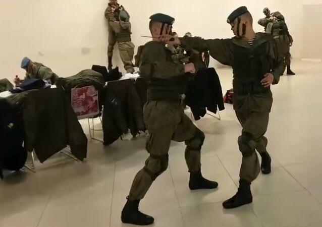 Mannequin challenge from Ryazan Higher Airborne Command School