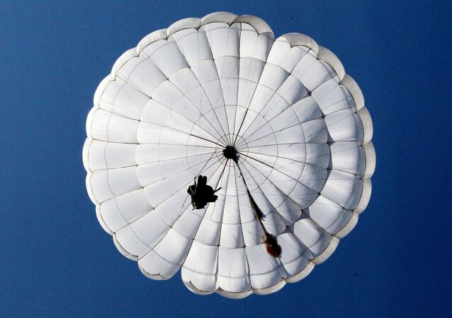 Airborne force exercise in Promorsk Territory