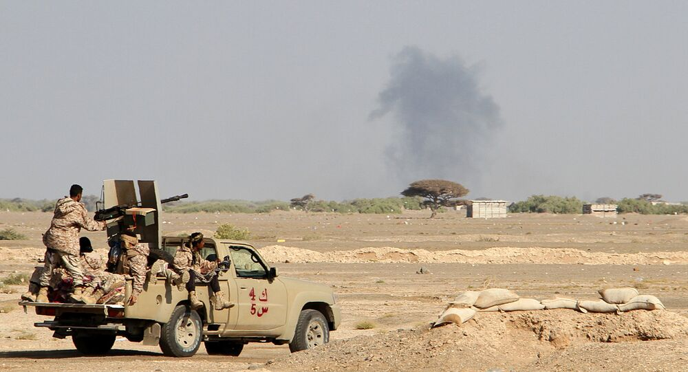 Yemeni pro-government forces. (File)