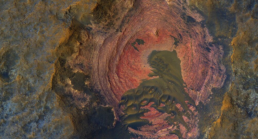NASA Releases Image Depicting the Heart of Mars