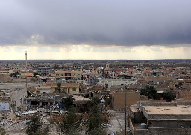 The town of Bashiqa, some 20 kilometres north east of Mosul. (File)