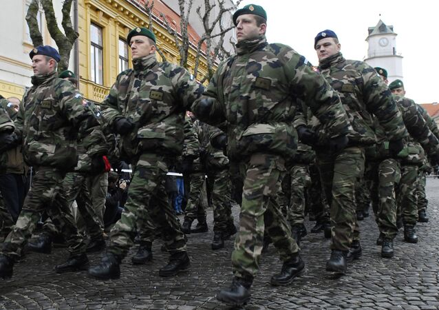 Slovakian soldiers (File)
