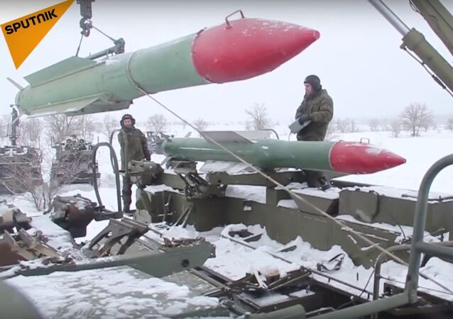 Russian Air Defense Troops' Military Drills