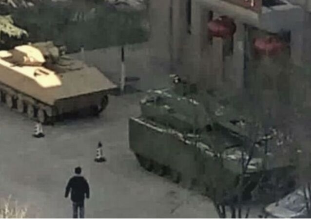 Possible Chinese Fighting Vehicle