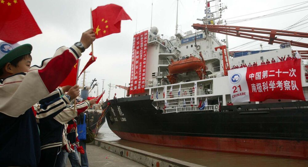China's Antarctic expedition ship (File)